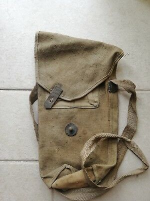 Custodia Maschera Antigas M35 Gas Mask Case Regio Esercito Italiano Ww2