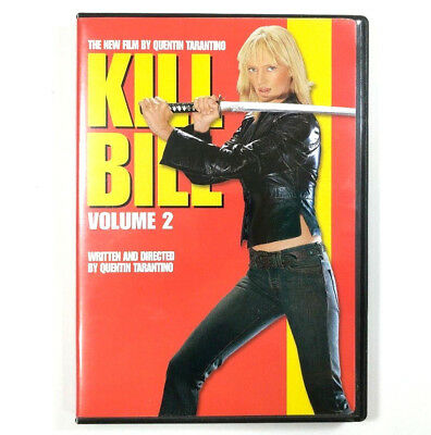 Kill Bill Vol. 2 DVD 2004 Anamorphic Widescreen Uma Thurman