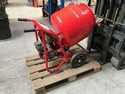 Baromix Cement Mixer with Honda GHX50 Petrol Engine
