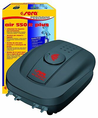 Sera 08816 Air 550 R Plus – Pompe à aire pour aquariums 550 L/h a 8 W