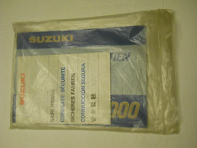 Nos Suzuki Gs1000 Owners  Manual  **french Print** & Safe Riding Booklet