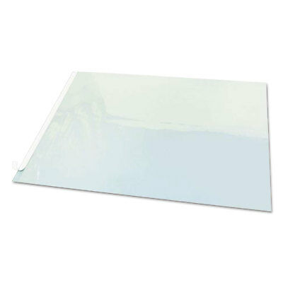 Artistic Second Sight Clear Plastic Hinged Desk Protector, 25 1/2 x 21