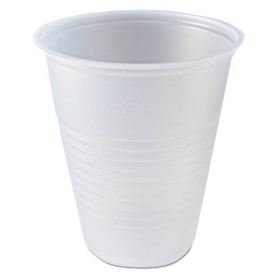 Fabri-Kal RK Ribbed Cold Drink Cups, 7 oz, Clear