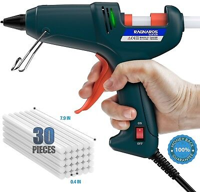 Hot Glue Gun, RAGNAROS 60W Thermostat Hot Melt Glue Gun, Rapid Preheating With