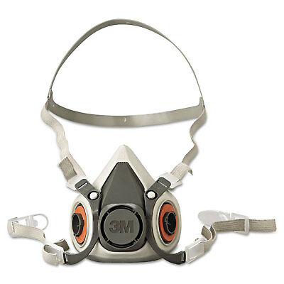 3M/COMMERCIAL TAPE DIV. Half Facepiece Respirator 6000 Series, Reusable, Small