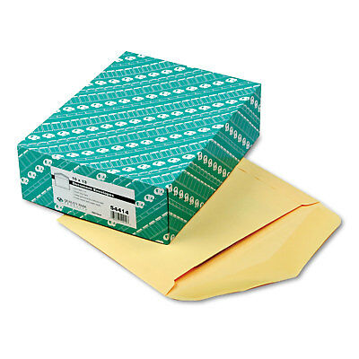 QUALITY PARK PRODUCTS Open Side Booklet Envelope, 13 x 10, Cameo Buff, 100/Box