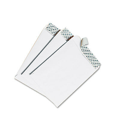 QUALITY PARK PRODUCTS Redi Strip Catalog Envelope, 12 x 15 1/2, White, 100/Box