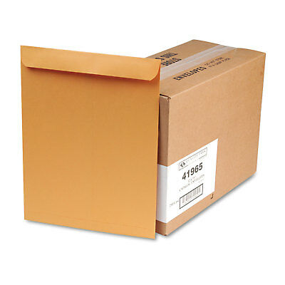 QUALITY PARK PRODUCTS Catalog Envelope, 12 x 15 1/2, Brown Kraft, 250/Box