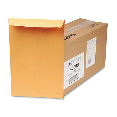 QUALITY PARK PRODUCTS Redi Seal Catalog Envelope, 10 x 15, Brown Kraft, 250/Box