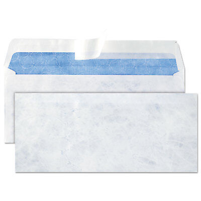 DuPont Tyvek Lightweight Security Envelope, #10, 4 1/8 x 9 1/2, White, 100/Box
