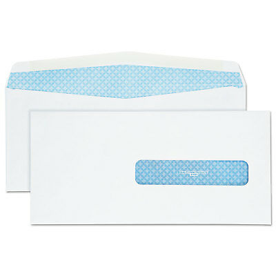Health Form Gummed Security Envelope, #10 1/2, 4 1/2 x 9 1/2, White, 500/Box