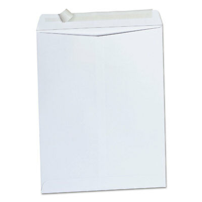 UNIVERSAL OFFICE PROD Peel Seal Strip Catalog Envelope, 10 x 13, White, 100/Box
