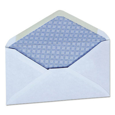 UNIVERSAL OFFICE PRODUCTS Security Envelope, 3 5/8 x 6 1/2, White, 250/Box