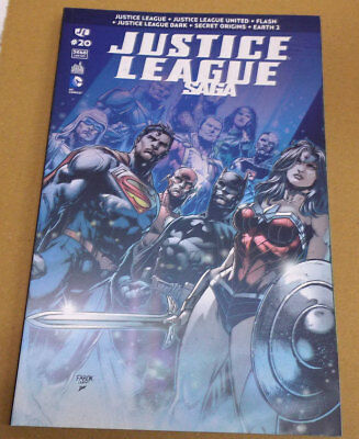 ➡ Justice League Saga No. 20 Dc Urban Comics 2015 Tbe ☰