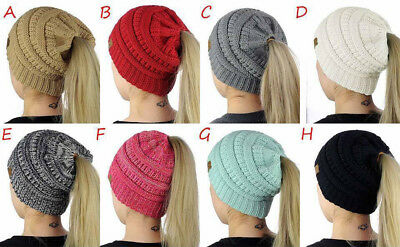 Winter Beanies Hats  Caps Women Winter Knitted Wool Cap Skullies Beanie  Warm Hat 09bea86d3
