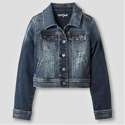 Kids Size Small (6-6x) Denim Jeans Jacket great for Spring/Summer!