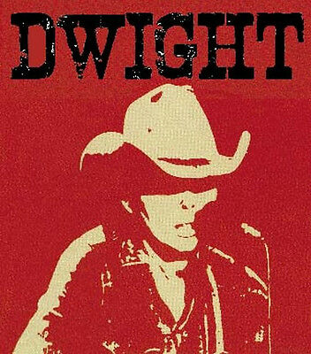 Dwight Yoakam --- Country Music  Vintage Bumper Sticker Nashville decal