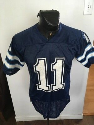 390725320b9 MENS Football Jersey CFL Toronto Argonauts  11 Large Athletic Knit VINTAGE  70 S