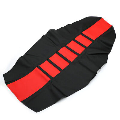 Leather Gripper Soft Skin Rubber Seat Cover For Honda CR250R CR80R CRF250R 450R