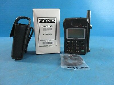 Vintage RARE Sony CM-RX100 Portable Cell  Phone - A50  W/ Charger and Case