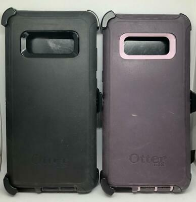 Brand New OEM Otterbox Defender Case for Samsung Galaxy Note 8 Black / Blue !
