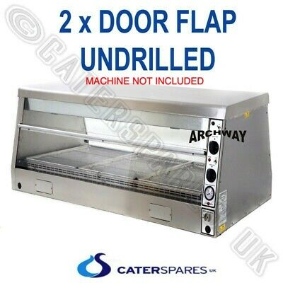 Archway Chicken Display Warmer Cabinet Hd5 Hd3 Model Clear Window Door Flap X 2
