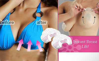 Bare Lifts Breast Lift Invisible Bra Tape Boob Shape Cleavage Enhancer 10 Lifts