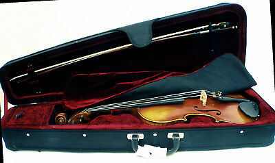 Vintage Stainer model violin outfit with case and bow
