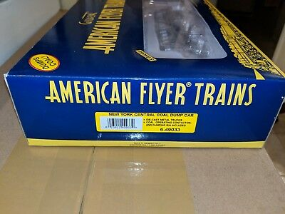 American Flyer S Gauge 6-49033 New York Central Dump Car C-9 w/OB