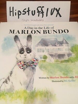 Last Week Tonight John Oliver A Day in the Life of Marlon Bundo Hardcover Book