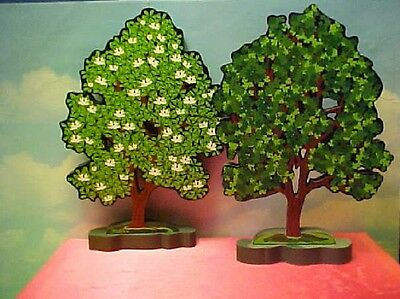 2 Shelia's Collectibles Spring & Summer Trees