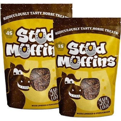 Likit Stud Muffins Unisex Stable And Yard Horse Treats - Brown All Sizes