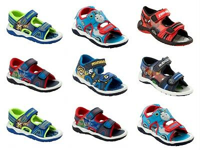 Boys Official Branded Character Beach Sports Walking Summer Sandals Uk Size 4-13