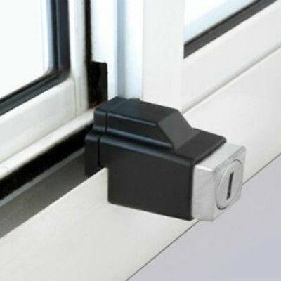 Aluminium Sliding Window Restrictor Lock Security Home Device Limiter With Key