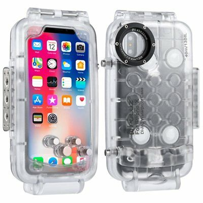 40M For iPhone X Waterproof Case Underwater Shockproof Cover LOT MK