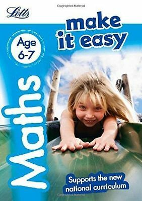Maths Age 6-7 (Letts Make It Easy) by Letts KS1, Peter Patilla, Paul...