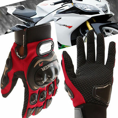 Motorcycle Gloves Probiker Racing Leather Motorcycle Gloves Summer