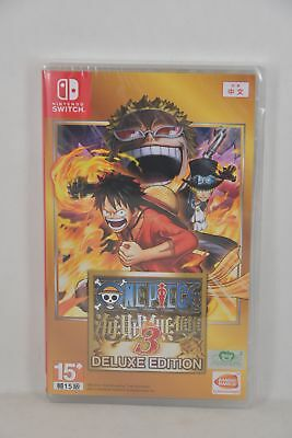 NEW Switch NS One Piece Musou 3 Deluxe Edition 海賊無雙 (HK CHINESE 中文/ ENGLISH)