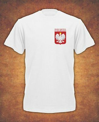 Koszulka Polska Polish Poland Football World Cup Russia 2018 T-shirt Kids