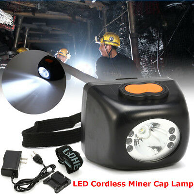 3W LED Miners Cordless Cap Security Light/Head Lamp Explosion-proof/Hard Hat