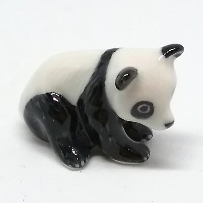 Handicraft Miniature Collectible Ceramic Chinese PANDA Figurine Wild Animal