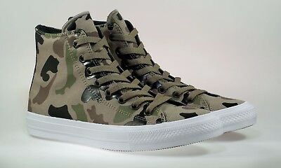 145f22f0d496 New Converse Ctas Ii Hi Sandy Chocolate White 151159C Casual Men s Size 10