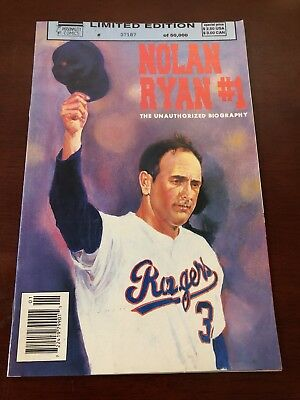 Nolan Ryan #1 - Personality Comics - Limited Edition (July 1992) VF- Newsstand