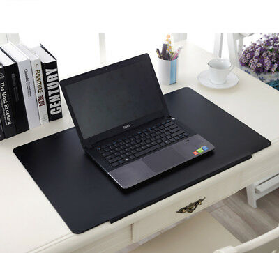 Desk Mat Leather Non Slip Keyboard Fixation Protector Mouse Pad For Home Office