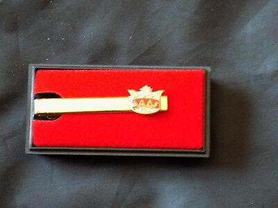 York Rites KYCH Crown Tie Bar Necktie Gold Color Masonic Fraternity NEW!