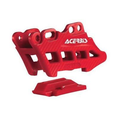 Acerbis 2410960004 Chain Guide - Red