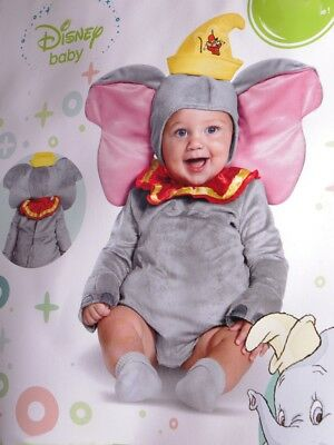 Disney Baby DUMBO Flying Elephant Halloween Costume 6 12 18 Months Infant NEW