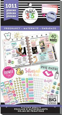 Happy Planner Sticker Value Pack - Pregnancy ,1101 stickers MAMBI Planning