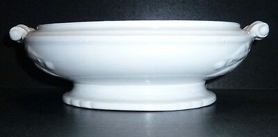 """Estate ~ Antique Ironstone """"lily of the valley"""" BASE of Tureen or Veggie"""