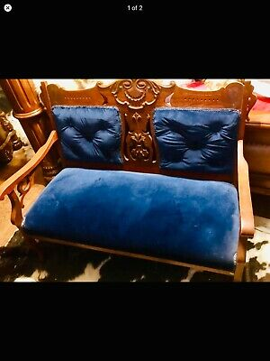 Parlor settee and chair okc pickup